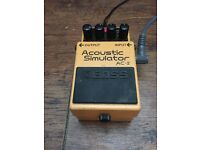 Boss AC2 / Ac-2 Acoustic Simulator Guitar Pedal