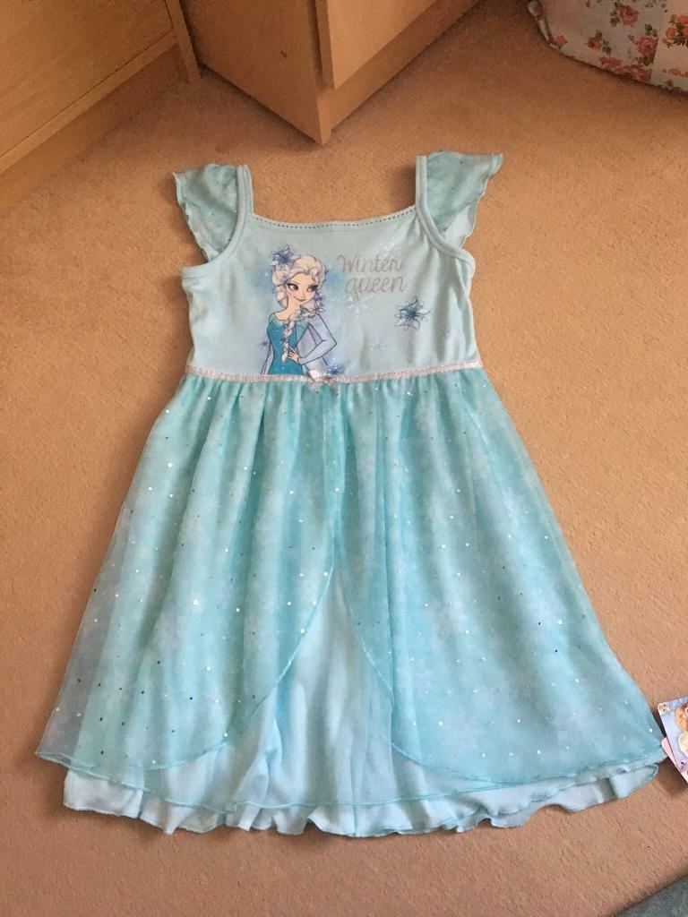 MotherCare Elsa Dress 5-6 years old - Brand New