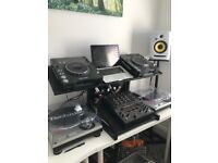 DJ stand - Novopro CDJ WS1 Workstation - for use with any cdj, mixer and laptop