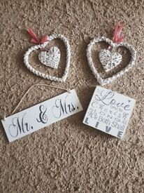 Wedding decorations/gifts