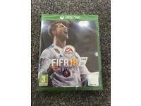 FIFA 18 Xbox one NEW