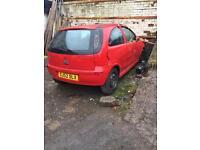 Vauxhall corsa £100
