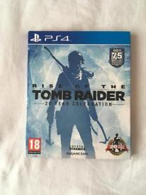 Rise of the Tomb Raider: 20 Year Celebration Artbook Edition PlayStation 4/PS4 game