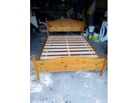 Quality Pine Double Bed