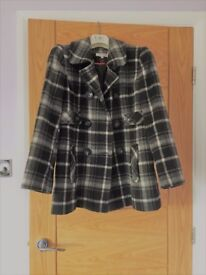 Black & White Warm Winter Jacket