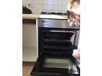 Stainless steel Single electric built in oven