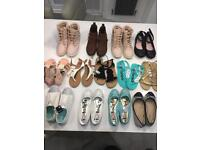 Various Girls Shoes & Boots - excellent condition