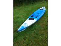 Kayak Perception Freedom Explorer ideal for touring/camping