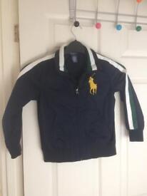 Authentic Ralph Lauren bomber jacket
