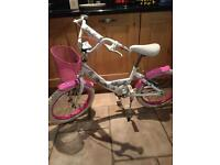 Girls bike 18''