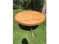Old pine table 4ft