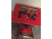 Spider man table and chair set