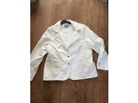 Denim jacket size 22