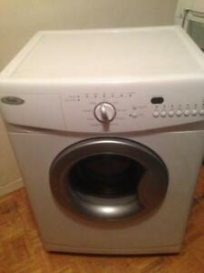 "Whirlpool 24"" spacesaver washer"