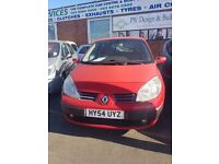 Renault Megane 1.9 diesel manual in red
