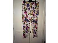 Size 10 floral trouser