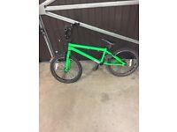 Green Haro boys BMX ZX20