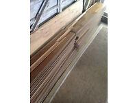 Oak laminate flooring. Best bits from 12msq floor. Edging included.