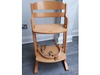 BabyDan High Chair (Natural)
