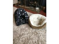 Free to collect - Two cat beds