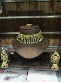 3pcs Jewellery Set /Pista green colour (NEW)