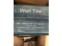 Wave effect white tiles for sale