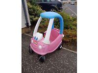 little tikes car pink
