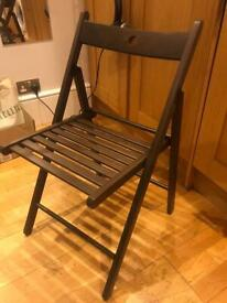 IKEA foldable wooden chair