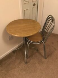 Bistro table and chairs for sale