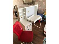 Free desk and chair