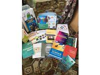 Job lot of university primary education (teaching) books
