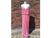 Pink Sequin Dress - prom/ball - Size 8/10