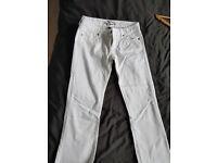 Ralph Lauren white trousers/jeans