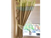 Blackout curtains - child's baby nursery