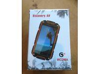 Discovery V8 dual sim waterproof smart phone