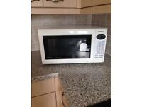 Panasonic 27 litre 1000 watt Digital Combination Microwave Oven with Quartz Grill, White