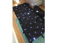 DJ Booth Star cloth by LEDJ.