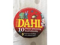 10 Road Dahl Audiobooks in Tin Case (20+ CDs)
