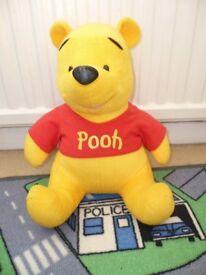 12 inch high Disney Pooh bear