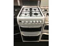 CANNON 50CM ALL GAS COOKER IN WHITE