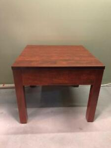 Square Coffee Table - Cherry - Brand New