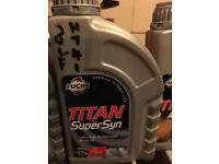 Titan super syn brand new motor oil 0w-30 1 litre