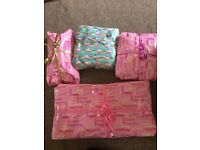 Girls 12 layer party pass the parcels