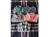 Selection of J Crew men's shirts - medium, excellent condition