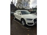 White Audi Q3, 63 plate, Immaculate Condition