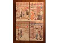 Rooji koibana 1-4 full set Japanese manga