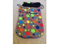 Buggy Snuggle Footmuff/ fits all pushchairs