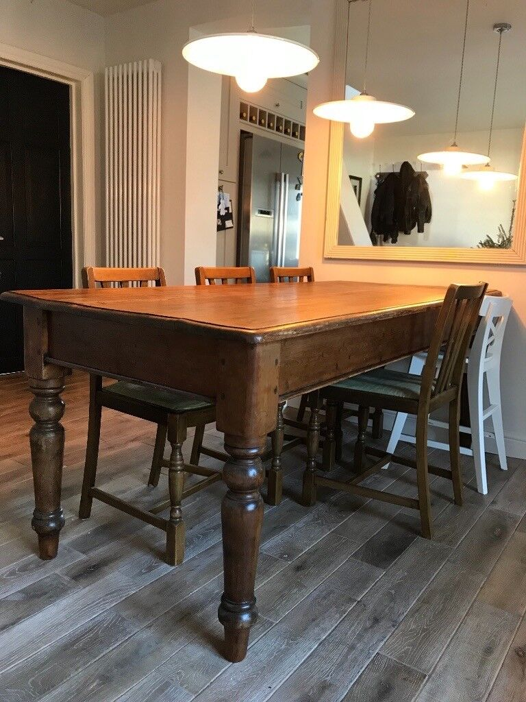 Antique Farmhouse Dining Table In Stevenage Hertfordshire Gumtree