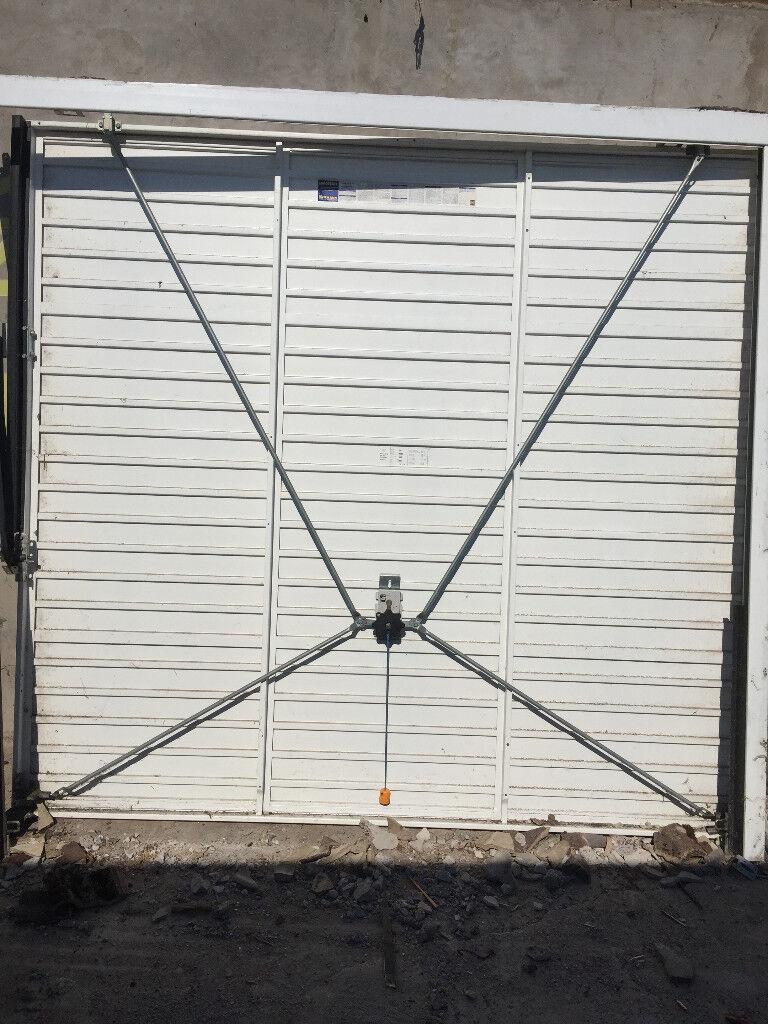 A Single Garage Door Standard 7 Ft Wide Good Condition In St