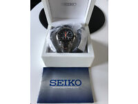 Seiko F1 Sportura Cronograph 100mts Stainless steel Exellent Condition 100% Genuine